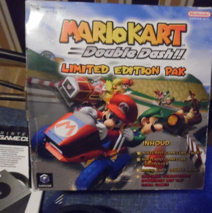 Nintendo Gamecube Mario Kart Double Dash Limited Edition Pack Complete In Box With 19 Games Sonic Battle Donald Duck Etc Catawiki