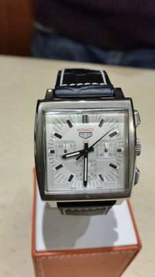 TAG Heuer 'Monaco 2001' – Limited edition men's wristwatch. Reference: CS2113.