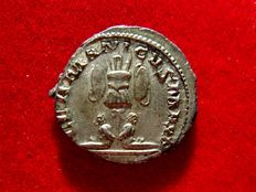 Roman Empire - Gallienus (253-268 A.D.) silver antoninianus (4,40 g, 21 mm). Colonia Agrippinensis mint (Cologne), 259 A.D. GERMANICVS MAX V.