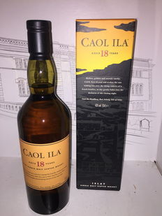 Caol Ila 18 years old  43% 70 CL