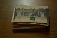 France, Ile de France - first half of 900 - 100 small-format postcards.