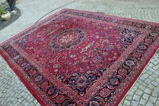 Persian Carpet  ISFAHAN Iran, 350x250cm, Hand Knotted Around 1970