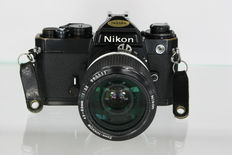 Nikon FE with Nikon Zoom-Nikkor 43-86mm f3.5 - very good condition