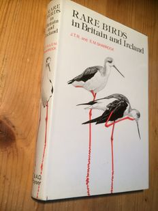 Lot with 5 books on rare birds - 1976/2000