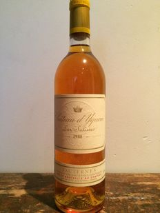1988 Chateau d'Yquem - 1 bottle