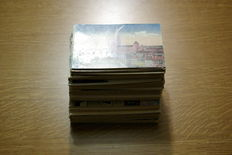 France,Alsace, Champagne, Ardenne, Lorraine - first half of 900- 250 small-format postcards