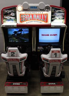 SEGA Rally 2 Twin Arcade Machine