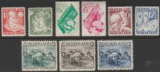 The Netherlands 1930/1931 – Three complete editions –NVPH 229/231, 232/235, 238/239