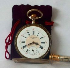 Remontoir 10 Rubis pocket watch, 1900's.