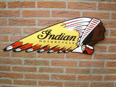 Emaille bord Indian Motorcycle