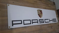 Porsche banner dealer workshop 1300 mm x 350 mm