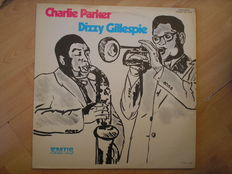 American Jazz  a lot of 15 Lp´s + 2double Lp. Charly Parker, Dizzy Gillespie, Charles Mingus, Miles Davis ao.