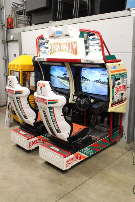 Sega Rally 2 Twin Arcade Machine Catawiki