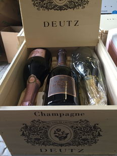 Assorted case of Champagne Deutz – 3 Rosé (2012), 3 Deutz classic – 6 bottles