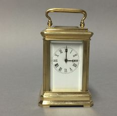 Small brass carriage clock – Late 20th century