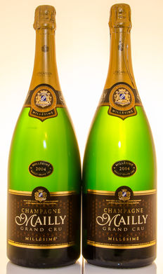 2004 Champagne Mailly Grand Cru - 2 magnums (150cl)