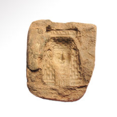 Egyptian Amulet Mould of Isis, 4.6 cm L
