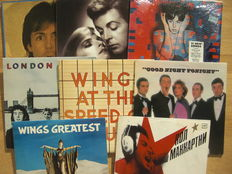 Paul McCartney / Wings Albums (7x) + 12 Inch Single (1x)