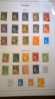 Portugal 1879/1920 - collection of used lot of ceres
