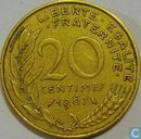 Coins - France - France 20 centimes 1967