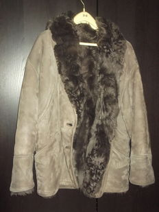 shearling coat women