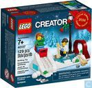 Lego 40107 Winter Skating Scene - Limited Edition 2014 Holiday Set (2 of 2)