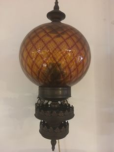 Very old and beautiful twilight lamp, ca. 1950, Netherlands