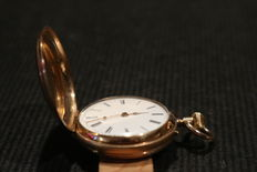 Old women - spring lid watch from 1890