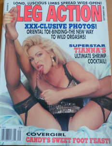 Fetish; Lot of 7 issues of Leg Auction - 1993/1995