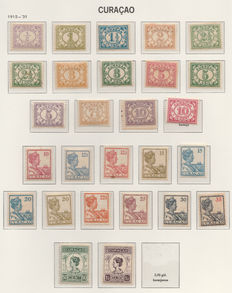 Curaçao 1915/1947 - Selection with Queen Wilhelmina and 300 Years Authority
