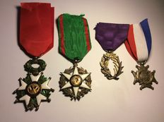 Lot of French medals
