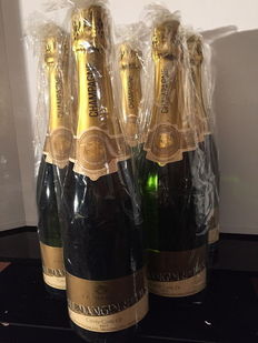 Dangin Cuvee Carte Or Brut Champagne  – Six bottles.