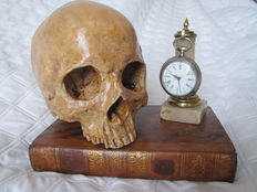 """Vanity memento mori """"the last hour"""" by Ried Gould"""