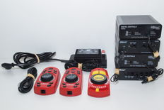Roco H0/N - 10718/10751/10751V1.1/10761/10764 - Locomotive mouse, power supply, digital central and standard connection box