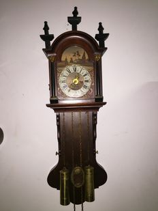 Oak Frisian clock - FHS - Approx. 1972