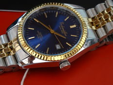 Eichmuller Classic Date – Just, Blue Dial  Wristwatch