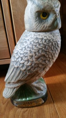 Jim Beam Kentucky Straight Bourbon Whiskey 1979 'Owl' decanter
