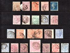 Great Britain Queen Victoria - Collection of Used Abroad