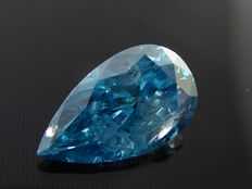 Certified loose Intense fancy blue diamond 1.02 ct ***No minimum price***