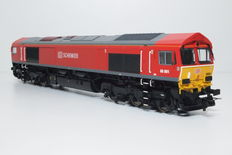 ESU H0 - 31074 - Diesel locomotive Class 66 of the DB Schenker AG