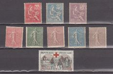 France 1902/1941 - Selection of stamps