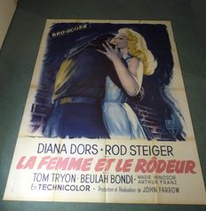 The Unholy Wife - Original French one-panel movie poster- 118 x 159 cm - RKO 1957 - Diana Dors