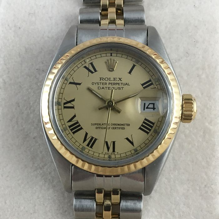 55667477c31 Rolex Datejust Oyster Perpetual – Women s wristwatch - Catawiki