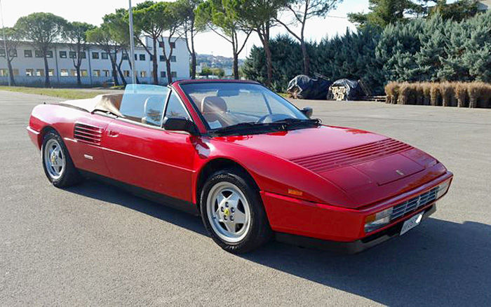 ferrari mondial t 3 4 cabriolet 1989 catawiki. Black Bedroom Furniture Sets. Home Design Ideas