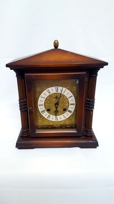 Wooden mantle clock - second half 20th century