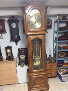Large standing Westminster clock - 2nd half 20th century