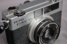 Petri Color 35 from 1968, 35 mm small frame camera