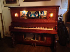 NICKELODEON ORCHESTRION GRAND PIANO AND AMERICAN AUTOMATIC ORCHESTRION