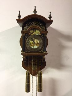 Sallander chair clock - FHS - Approx. 1972