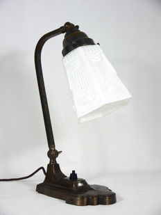 Art Deco bureaulamp